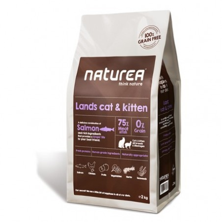 Naturea Lands Cat and Kitten 2 kg