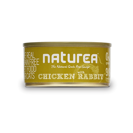 Naturea Chicken with Rabbit - kurczak i królik