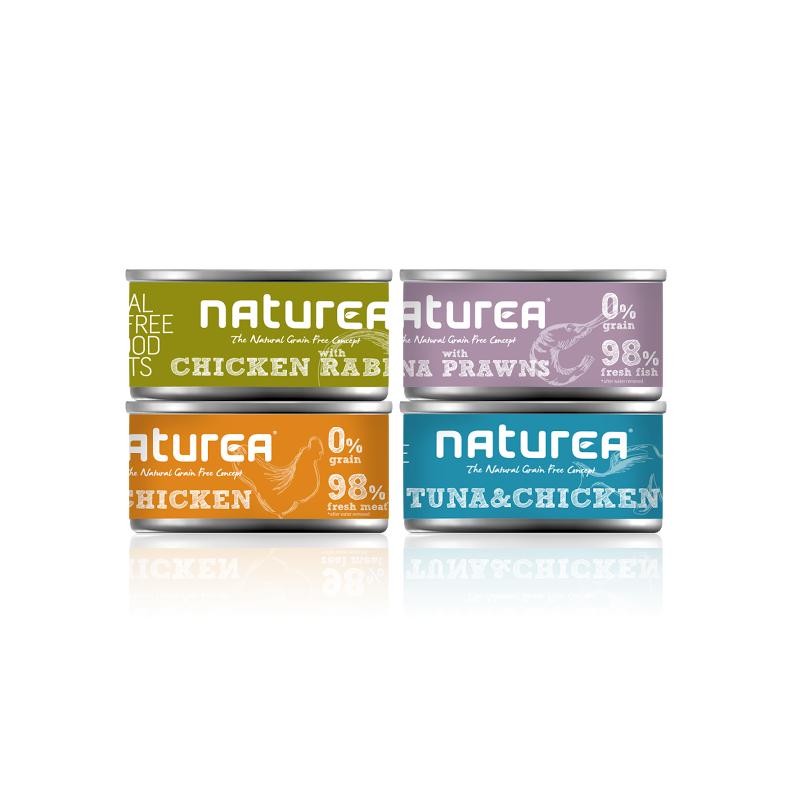 Naturea zestaw 4 smaki