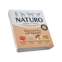 Naturo Adult Łosoś z ryżem i warzywami