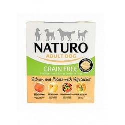 Naturo Adult Grain Free Łosoś z ziemniakami i warzywami