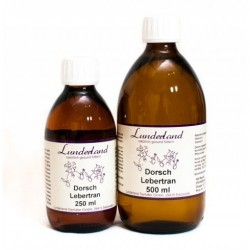 Lunderland Dorschlebertran, zimnotłoczony olej z dorsza