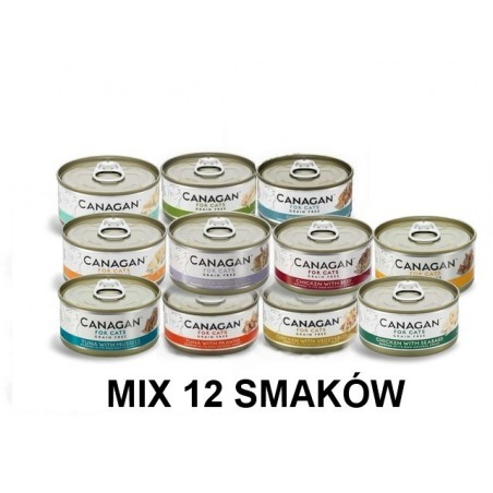 Canagan Cat Fresh Mix 12 szt