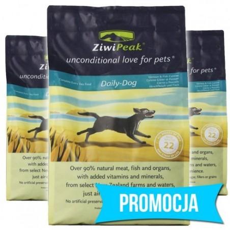 ZiwiPeak Daily Dog Dziczyzna i Ryba 3 kg