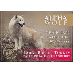 AlphaWolf Grain Free Large Breed Turkey Sweet Potato & Cranberry