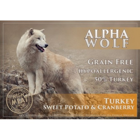 AlphaWolf Grain Free Turkey Sweet Potato & Cranberry