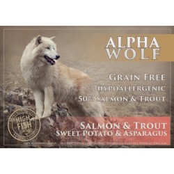 AlphaWolf Grain Free Salmon, Trout, Sweet Potato and Asparagus