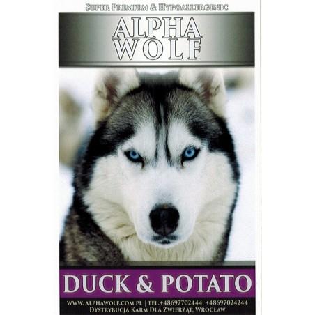 AlphaWolf Hypoallergenic Super Premium Grain Free Adult Duck & Potato