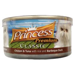 Princess Premium Cat - kurczak, tuńczyk i kaczka