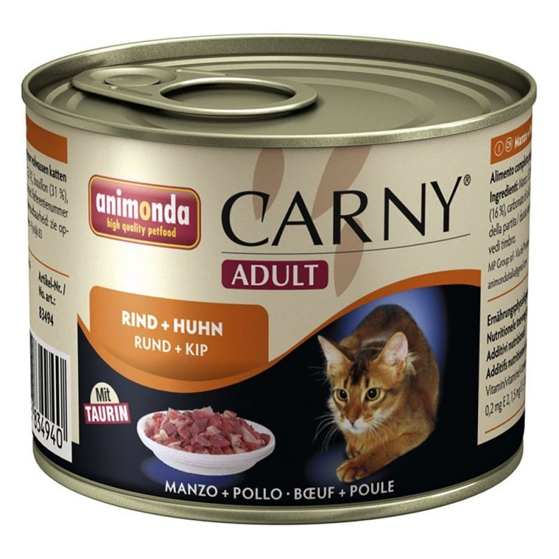 Animonda Carny Adult Wołowina i kurczak