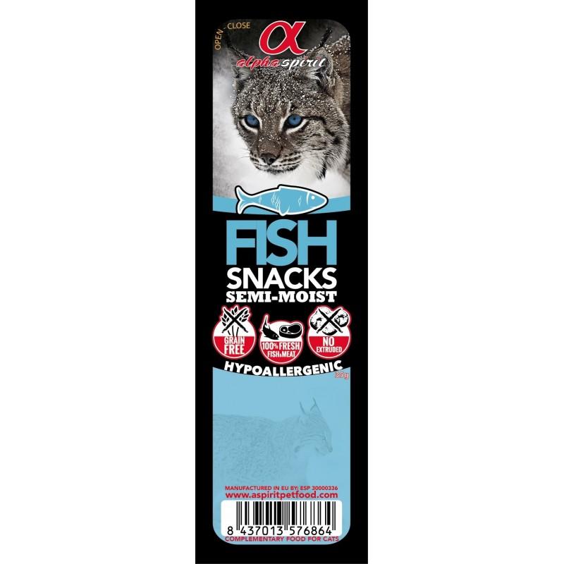 Alpha Spirit kostki dla kota - ryba