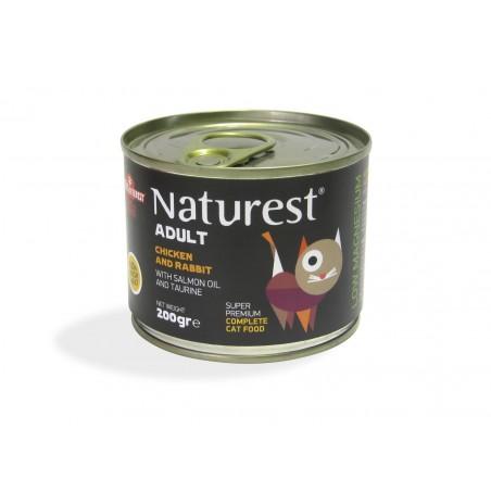 Naturest Kurczak i królik z olejem z łososia i tauryną