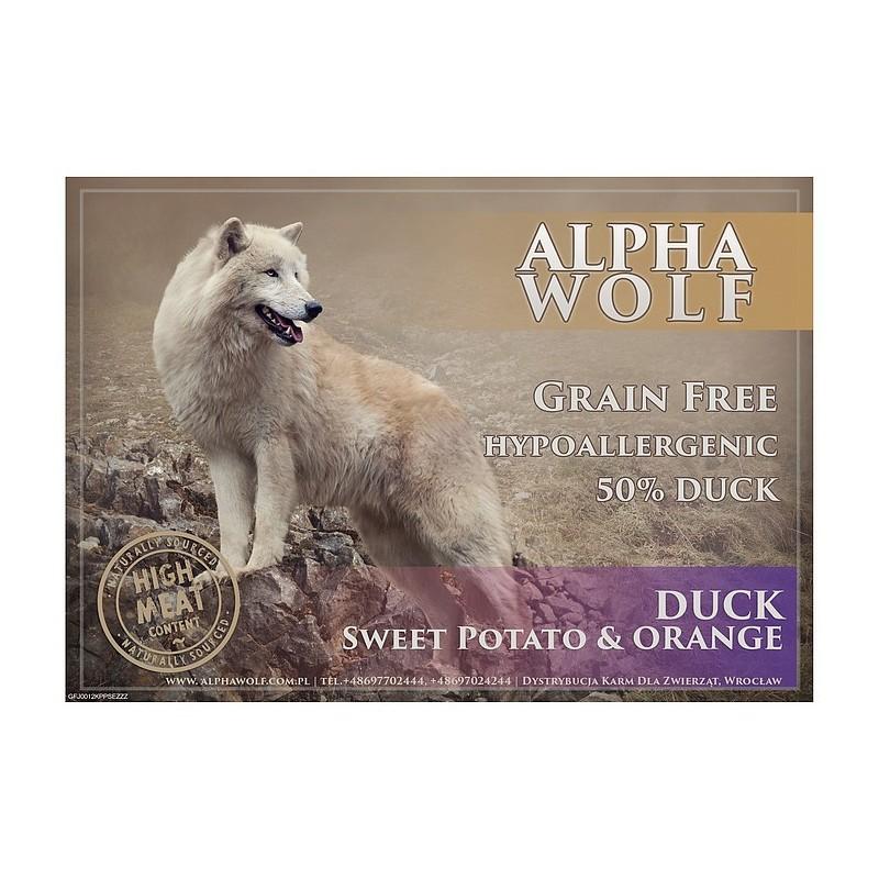 AlphaWolf Grain Free Duck Sweet Potato&orange