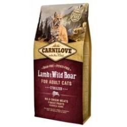 Carnilove Cat Lamb & Wild Boar Sterilised