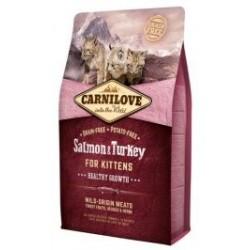 Carnilove Cat Salmon & Turkey for Kittens