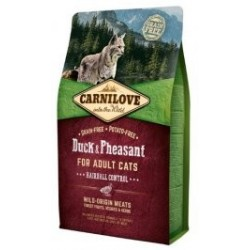 Carnilove Cat Duck & Pheasant Hairball Control