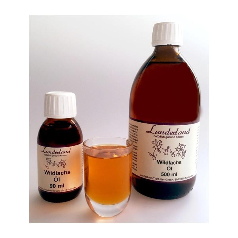 Lunderland Wildlasch, zimnotłoczony olej z dzikiego łososia