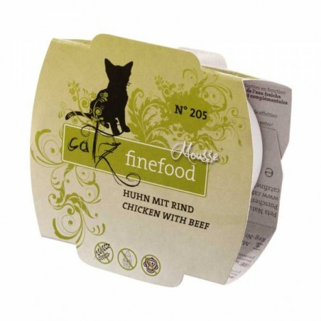 Catz FineFood Mus N. 205 Drób i wołowina