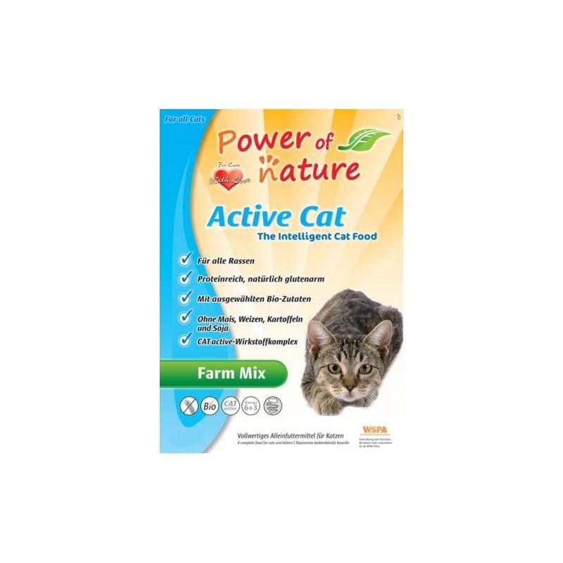 Power of Nature Active Cat Farm Mix 6 kg