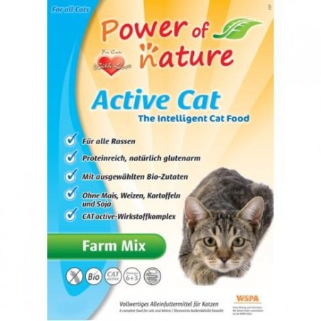 Power of Nature Active Cat Farm Mix 6 kg