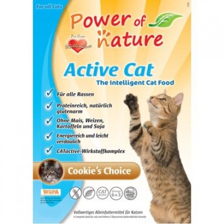 Power of Nature Active Cat Kurczak i brązowy ryż