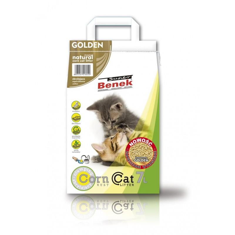 Żwirek Super Benek Corn Cat Golden