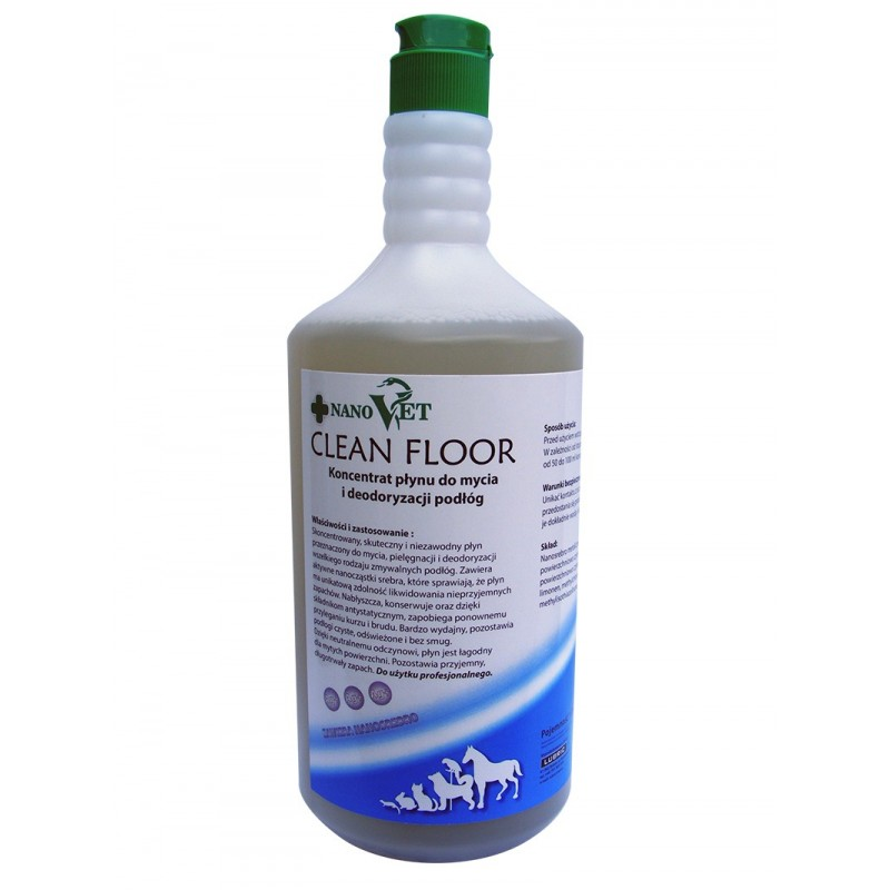 Nano Vet Clean Floor - koncentrat 1 l