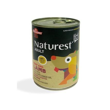 Naturest Dog Wołowina i jagniecina z ryżem