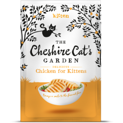 Cheshire Cat's Garden kitten - chicken
