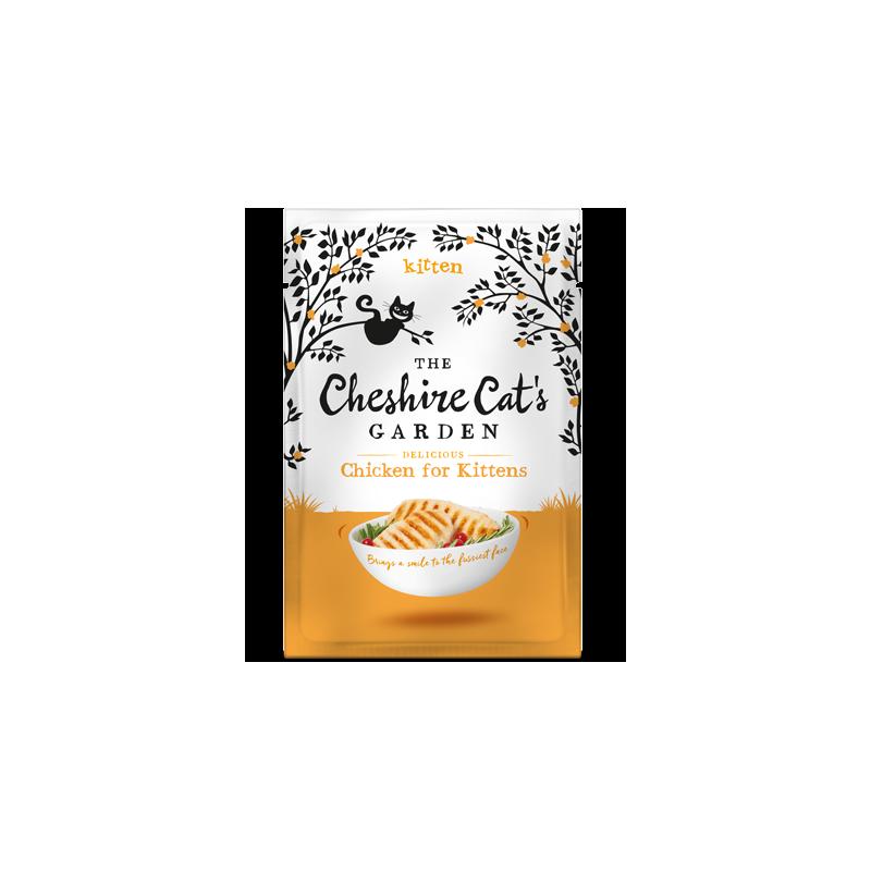 Cheshire Cat's Garden kitten - chicken
