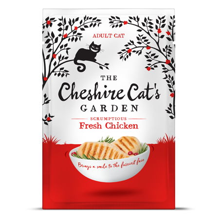 Cheshire Cat's Garden adult - chicken