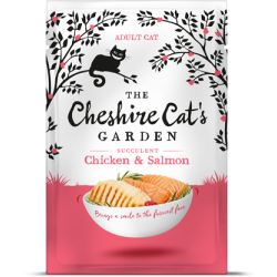 Cheshire Cat's Garden adult - chicken end salmon