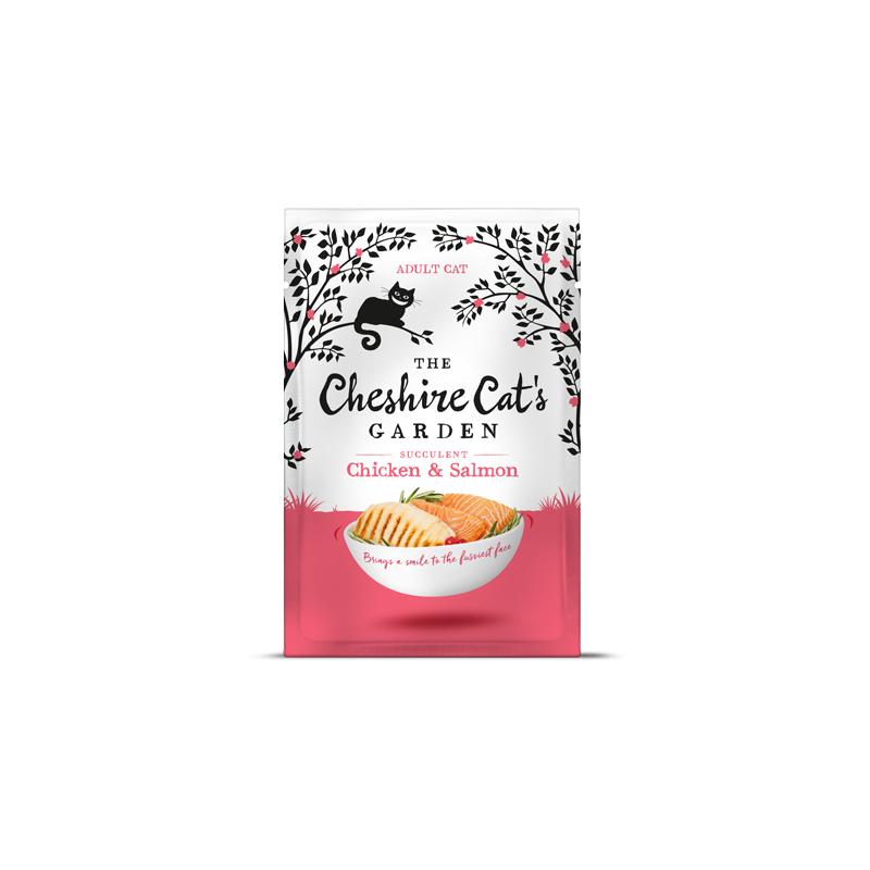 Cheshire Cat's Garden adult - chicken end salmon