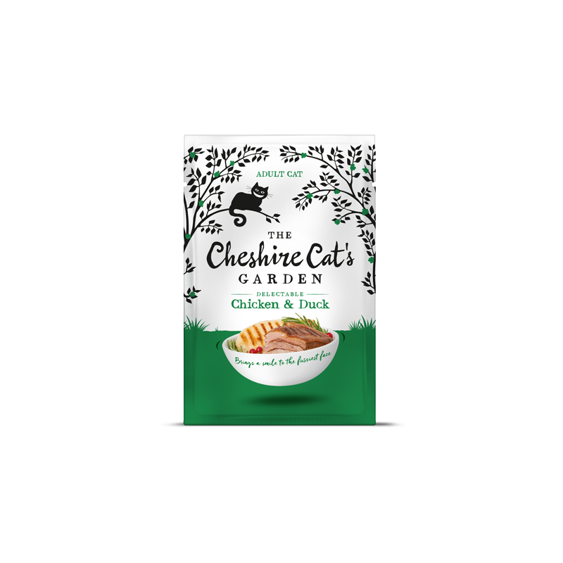 Cheshire Cat's Garden adult - chicken end duck