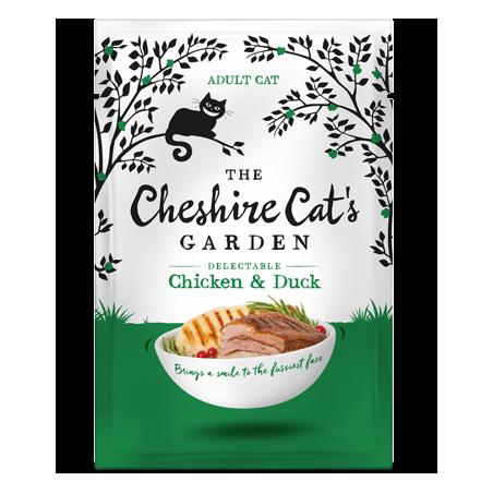 Cheshire Cat's Garden adult - chicken end duck