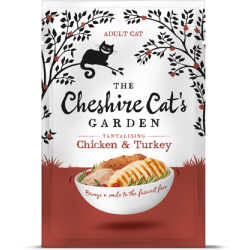 Cheshire Cat's Garden adult - chicken end turkey