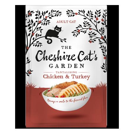 Cheshire Cat's Garden adult - chicken end turkey