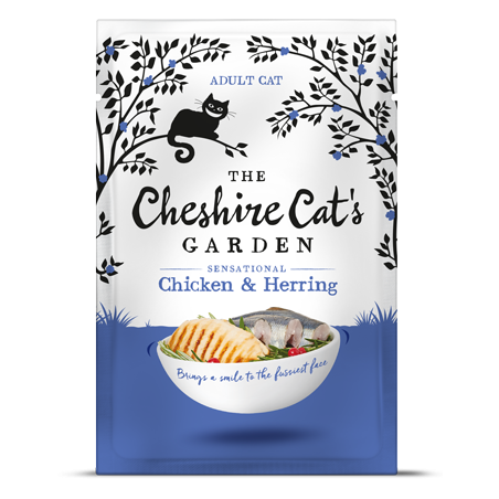 Cheshire Cat's Garden adult - chicken end herring