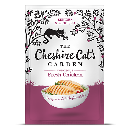 Cheshire Cat's Garden senior - chicken