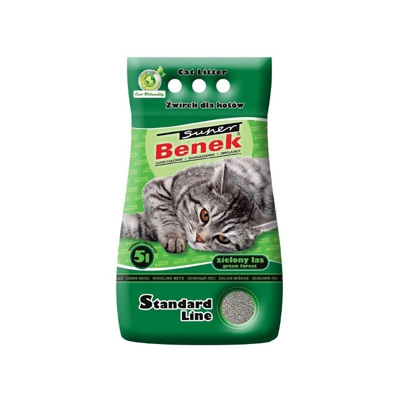Żwirek Super Benek Standard Zielony Las