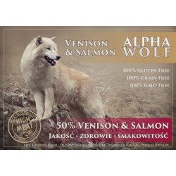 AlphaWolf Grain Free Venison end Salmon Sweet Potato