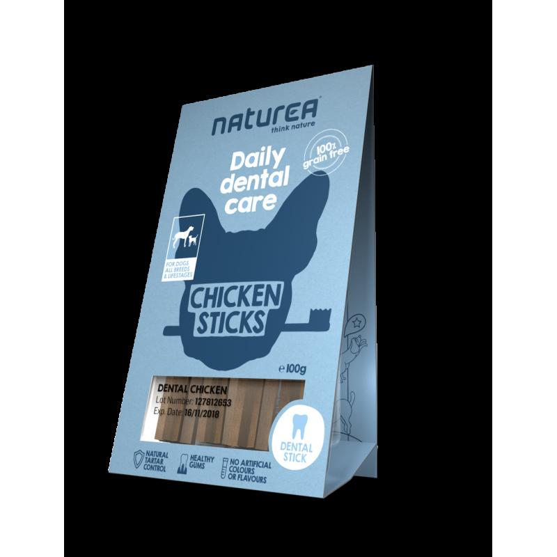 Naturea Dentystyczny prysmak dla psów - kurczak