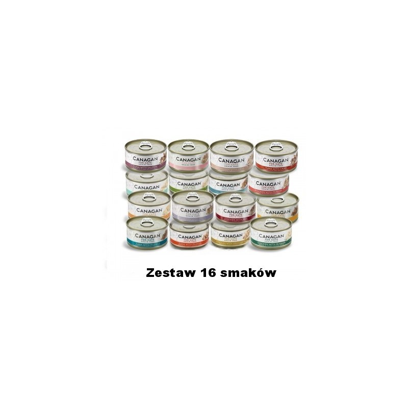 Canagan Cat Fresh Mix 16 szt