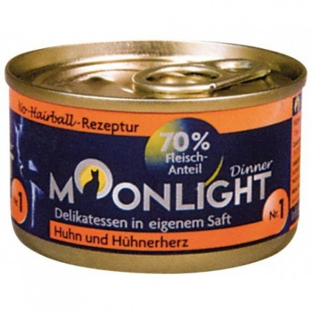 Moonlight Dinner Nr 1 - Kurczak i serca kurczaka