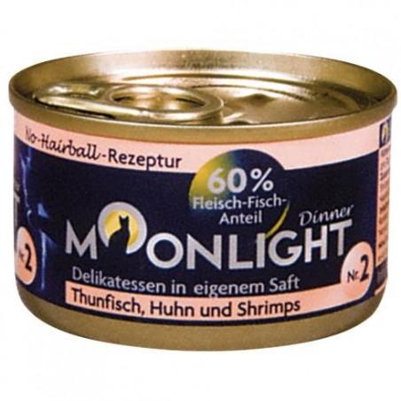 Moonlight Dinner nr 2 - tuńczyk, kurczak i krewetki w sosie