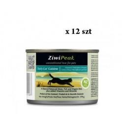 ZiwiPeak Daily Cat dziczyzna i ryba 12 szt