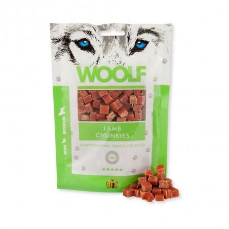 Woolf Lamb Chunkies mięsna przekąska z jagnięciny