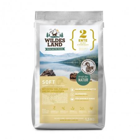 Wildes Land - soft Kaczka z ryżem i ziołami 1,5 kg