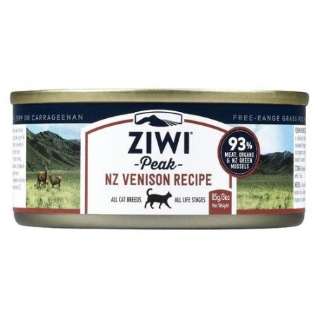 ZiwiPeak Moist Cat dziczyzna 85g