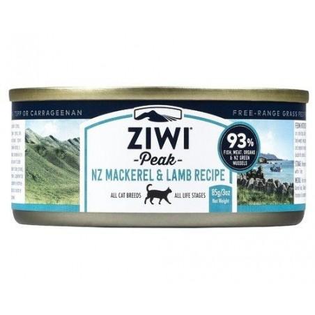 ZiwiPeak Moist Cat makrela i jagnięcina 85g
